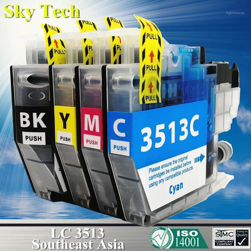 Mürekkep Kartuşları Kalite LC3513 LC3511, Brother -J572DW MFC-J491DW MFC-J690DW MFC-J890DW [Güneydoğu Asya] 1 için uyumlu kartuş