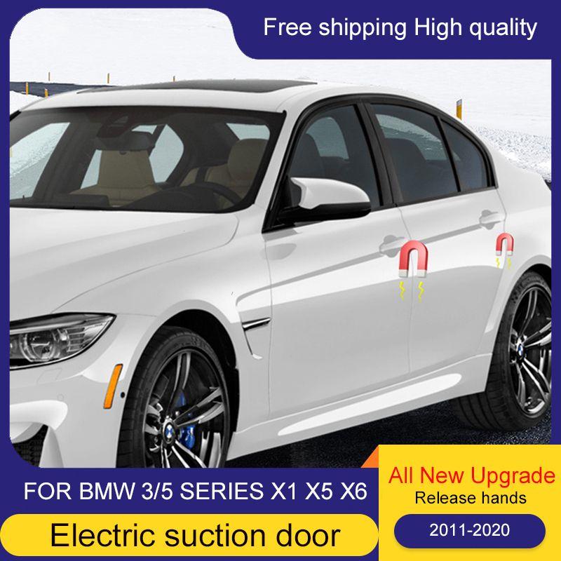 Araç Akıllı Elektrik Emiş Kapı Kilidi Yumuşak Kapat Kapı Süper Sessizlik İçin Bmw F30 F34 F10 F11 F15 F16 F48 3/5 Serisi x1 x5 x6