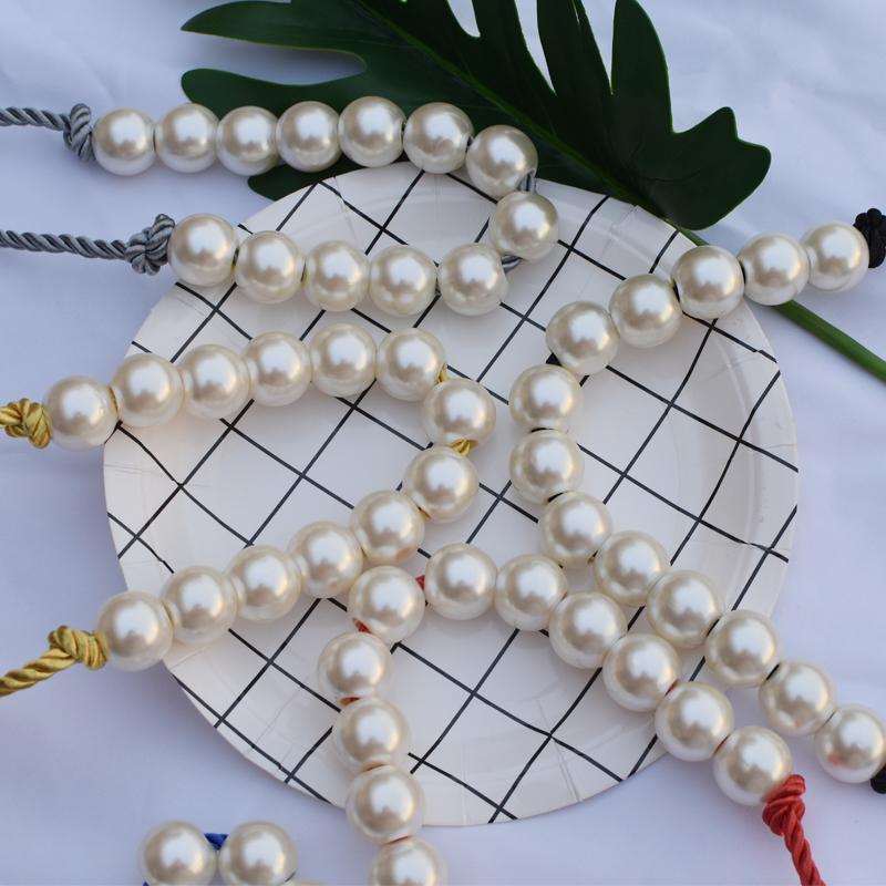 Dekoration stilvolle handtasche perlen qualität frauen perle pant großhandel schicke perle mit tasche faux dame design gut super cord fllun