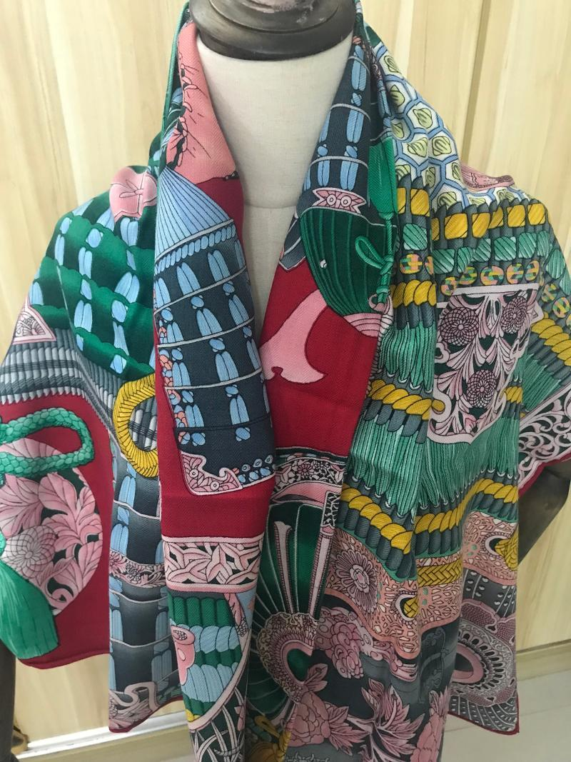 2020 nueva llegada otoño invierno clásico 140 * 140 cm l bufanda de cachemira 65% 35% seda abrigo de la bufanda de regalo de las mujeres muchacha de la señora