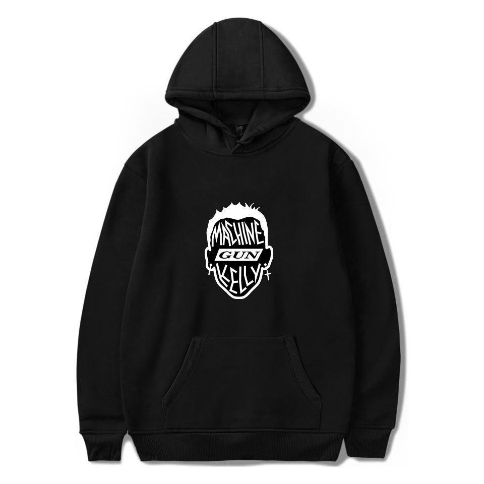 2020 MGK Makinalı Tüfek Kelly Rapçi Hoodies Kazak Yeni Albüm Hip Hop Hayranları Kapşonlu Sıcak Uzun Kol Yetişkin C1118