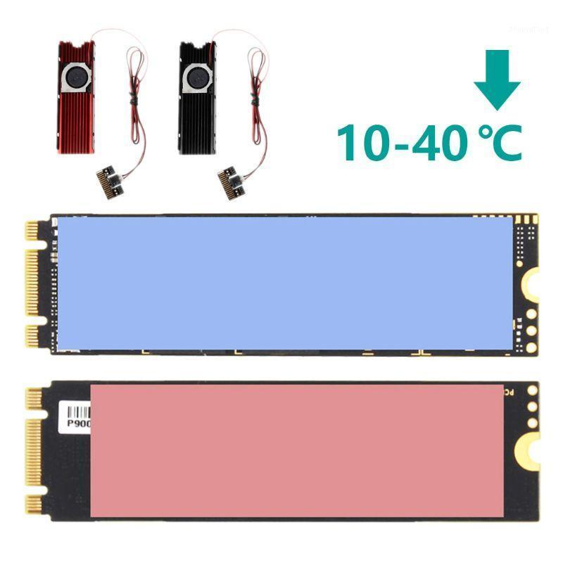 Double-sided Dustproof NVME NGFF M.2 Heatsink Cooling Metal Sheet Thermal Pad For M.2 NGFF 2280 PCI-E NVME SSD1