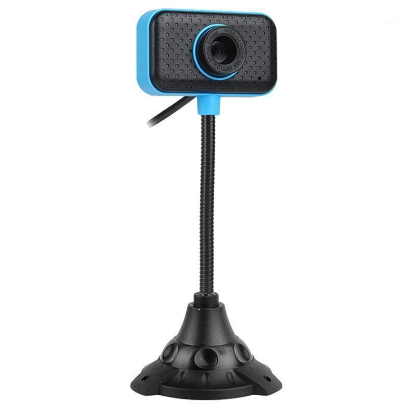 Webcams HD usb webcam ccd sensor web câmera de computador embutido microfone digital para desktop PC laptop video charling1