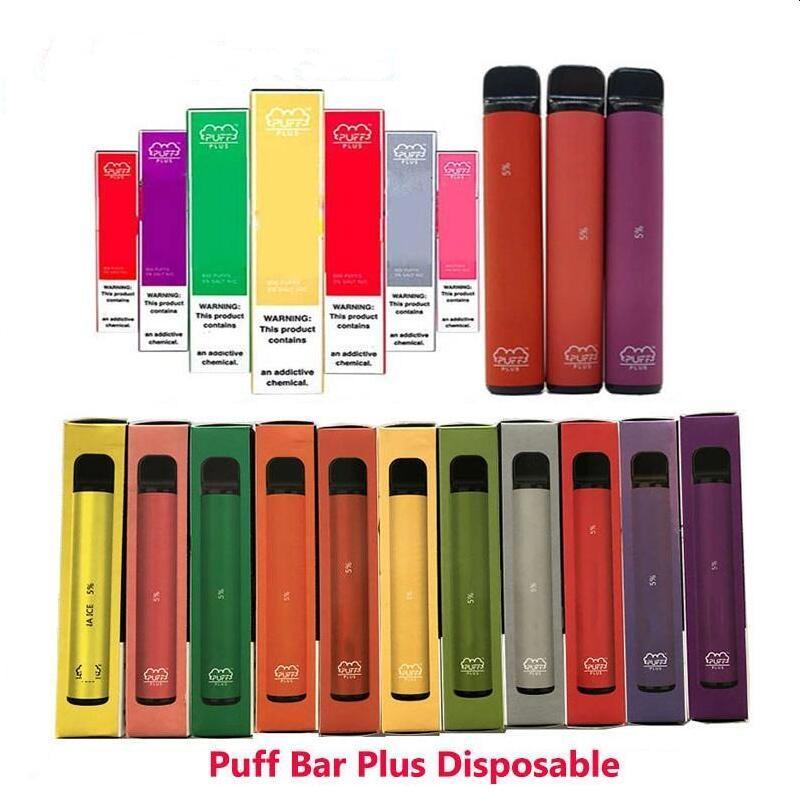 Puff Plus Disposable vape pen Kit 800+Puff 550mAh Battery 3.2ml Cartridge Empty Portable Vaporizer PK bang XXL posh bk