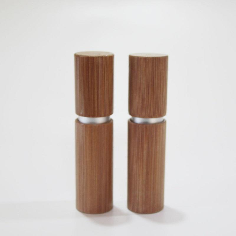 4g de rouge à lèvres en bambou tube tube gloss tube remplissant des tubes de baume à lèvres de la lèvre cosmétique matériel de conditionnement personnalisation