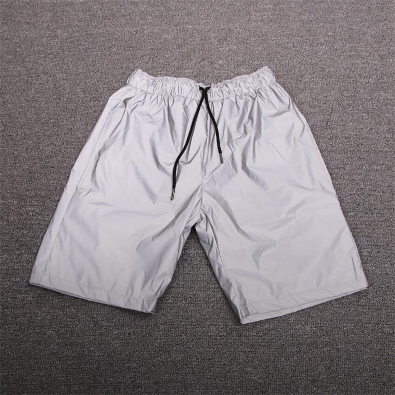 2020 새로운 여름 힙합 캐주얼 streetwear 성격 남성 반바지 고품질 반사 패션 조깅하는 homme 반바지