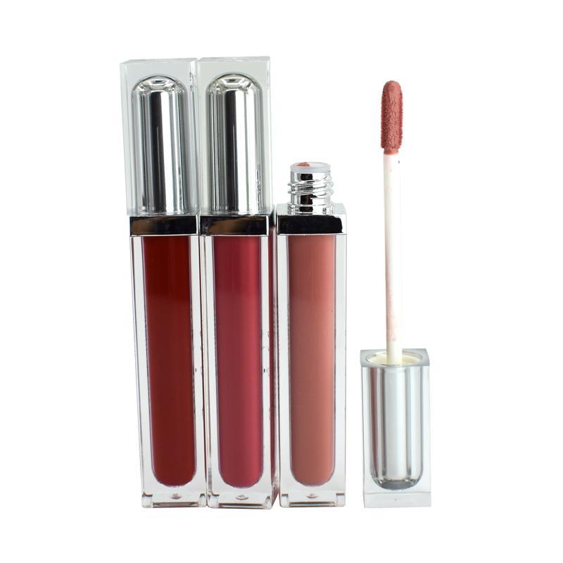 Lip Gloss Lipgloss Käufer Private Label Langlebiger nackt glänzend feuchtigkeitsspendende matte flüssige lippenstift machte alle natürlichen Zutaten Neues Produkt DIY