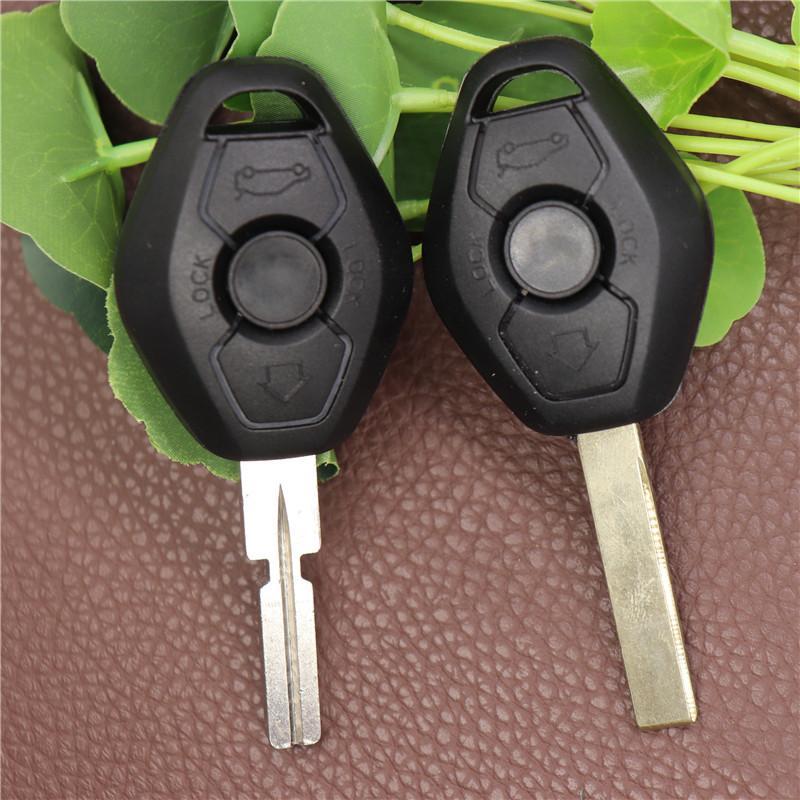 Удаленный автомобильный ключ FOB Case Shell для BMW 3 5 7 серии Z3 Z4 X3 X5 M5 325i E38 E39 E46 ключ (Blade Hu92) с логотипом