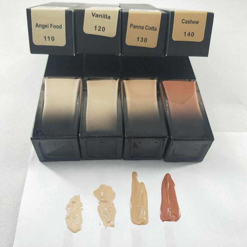 Magazzino! 4 colori Foundation Liquid Foundation Long Wear Wear Impermeabile Natural Matte Face Conceterer Spedizione gratuita