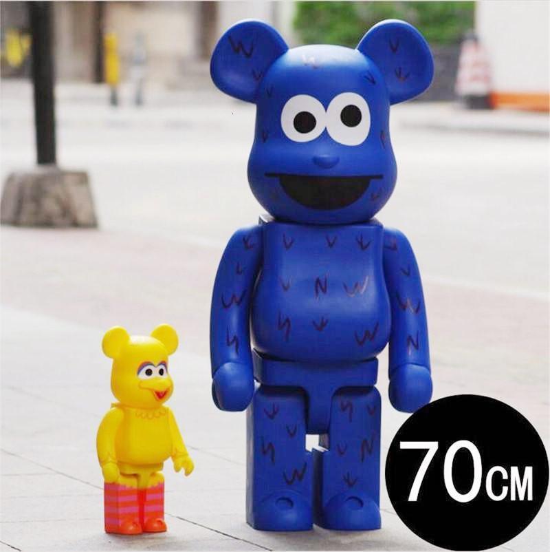 TOP 1000% 70cm Be @ rbrick originaleDenalFake e una varietà di tipi CH art figura figura bambola in PVC collezione modello decorazione della stanza per bambini regalo