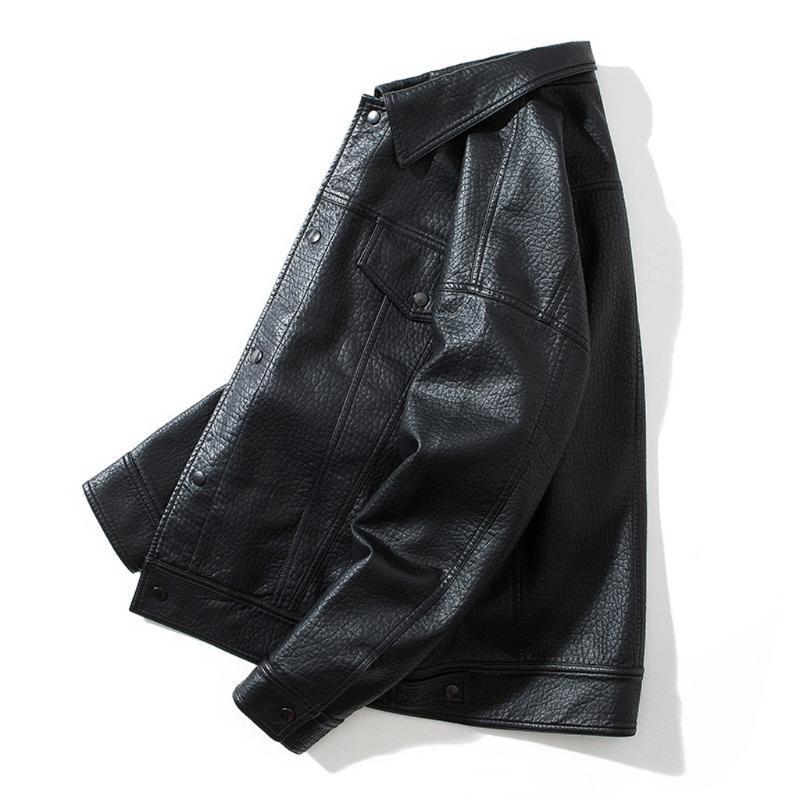 Повседневная мужская одежда 2021 воротник куртка плюс мужская пальто 8.12 зимняя брендовая вертикальная одежда Размер разворота осень jgogv