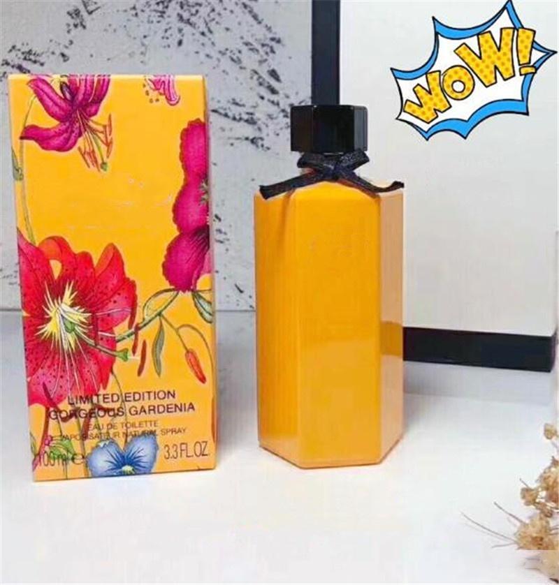 Irrésistible parfum 100ML parfum sain femmes déodorant bouteille jaune parfum floral à long spray temps durable.