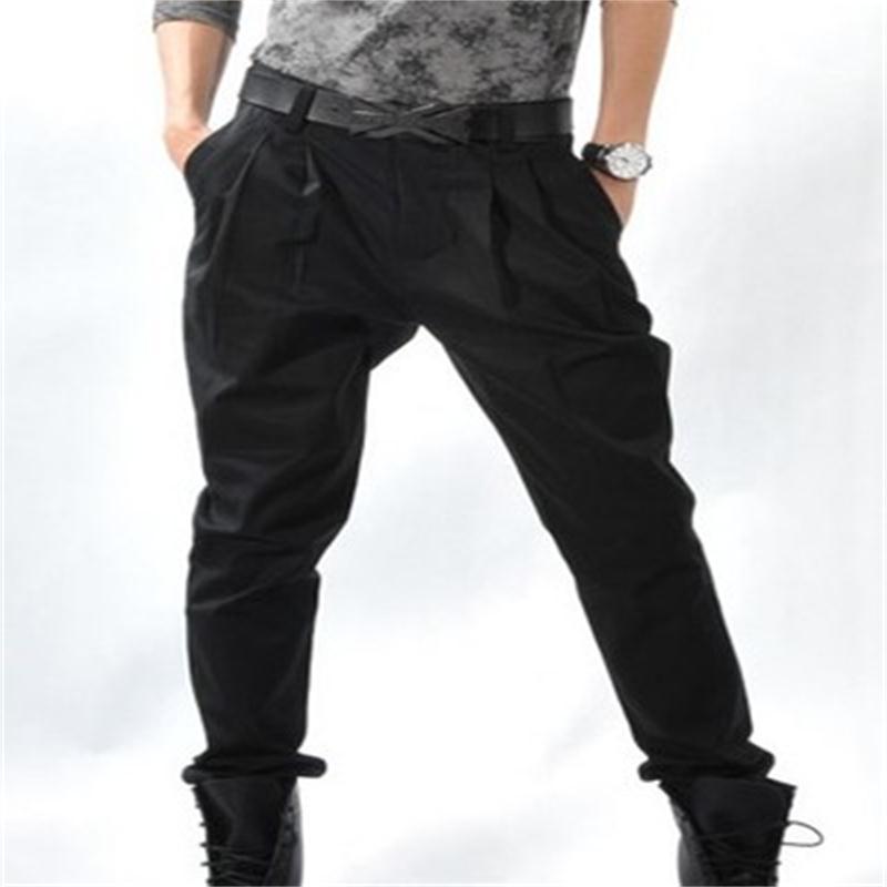 Pantaloni da uomo Primavera e Caduta moda Casual Piedi Piedi Bloomers Boots Pantaloni per uomo Plus Nero Yamamoto Style