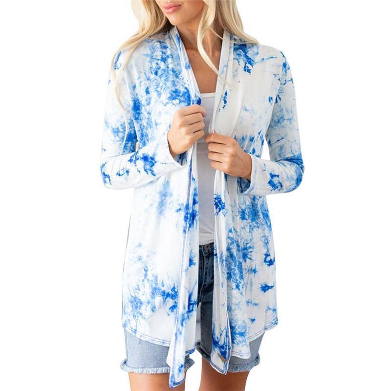 Moda Stilisti Kadın T Gömlek Hırka Bayanlar Süveter Büyük Kalite Ince Ceket Uzun Kollu Bayan Üstleri Gömlek