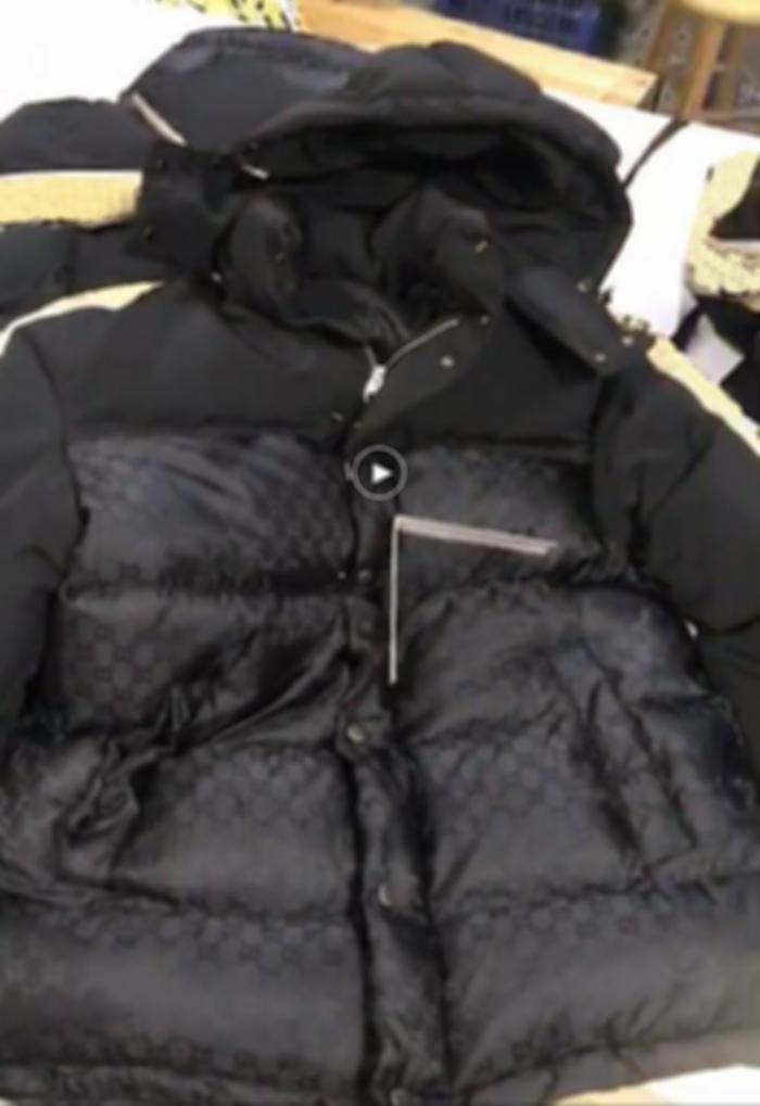 رجل مصممين الملابس هوديي جيوب إلكتروني الجانب webbi القطن سترة رجل الشتاء معاطف الرجال المصممين البلوزات الرجال ملابس سوداء الأصفر 02