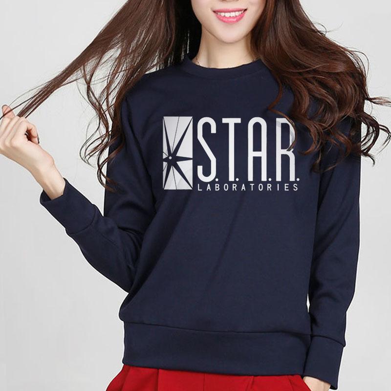 2020 nouvelle mode automne drôle draman dramatique le sweat-shirt flash sweatshirt star laboratoires femmes bandes dessinées TV star labons slim swoeurs sw0116