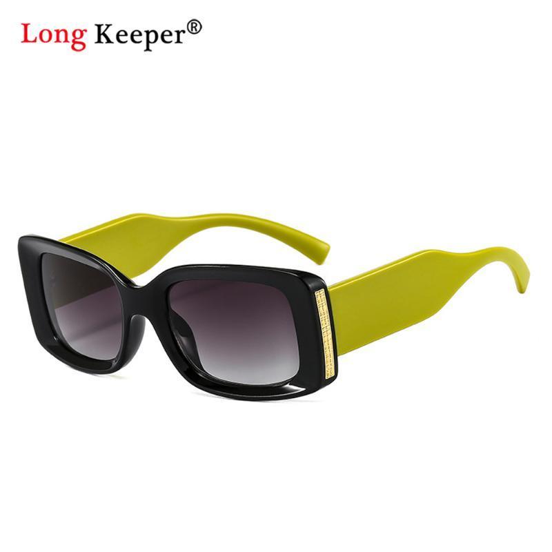 Квадратные Солнцезащитные очки Женщины Мода Бренд Дизайнер Кошка Глаз Солнцезащитные Очки для Женщин Ретро Гафас Малая рамка Леди Градиент