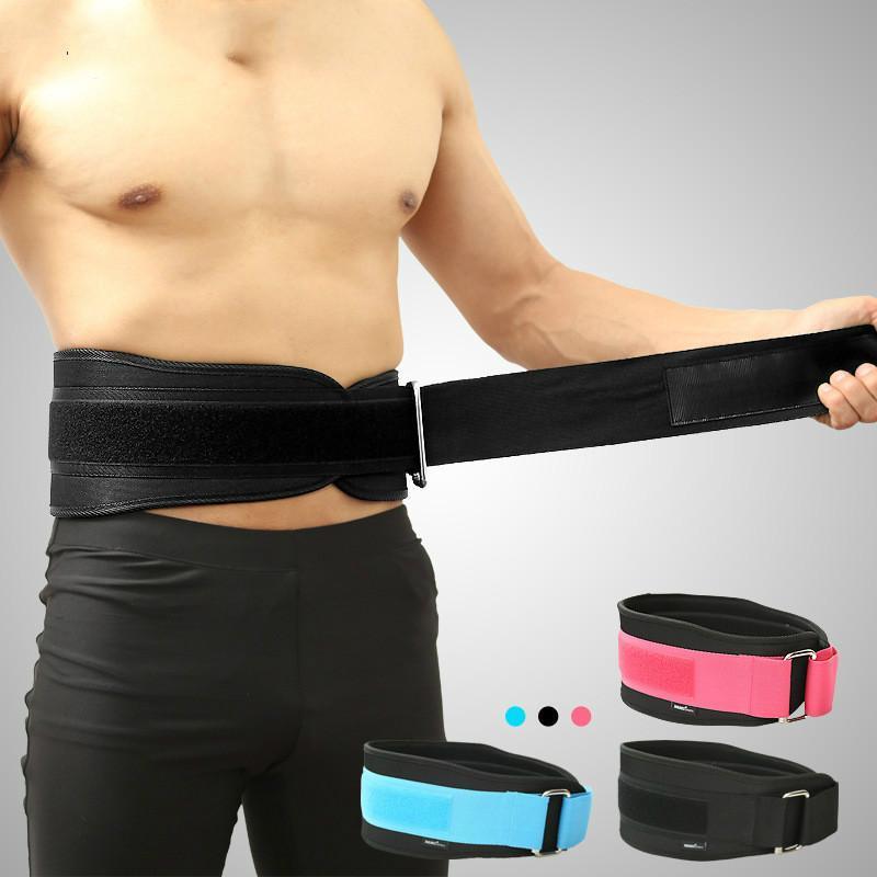 Поддержка талии приспособления приседания ленты для бодибилдинга бодибилдинг фитнес тренировки тренировки спортивный ремень унисекс защитный шестерня