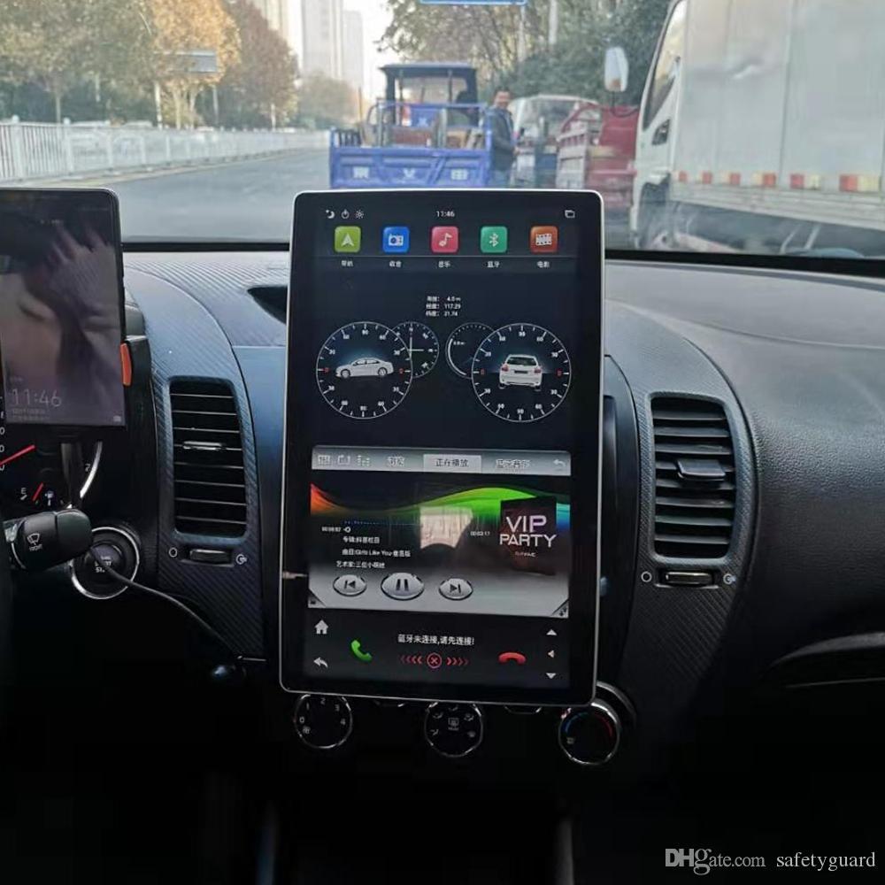 "Carplay Android Auto 1920 * 1080 IPS DSP Tesla Style 100 ° Votatable Экран PX6 2 DIN 12.8 ""Android 9.0 Универсальный автомобильный DVD-плеер Стерео Радио GPS Bluetooth 5.0 WiFi"