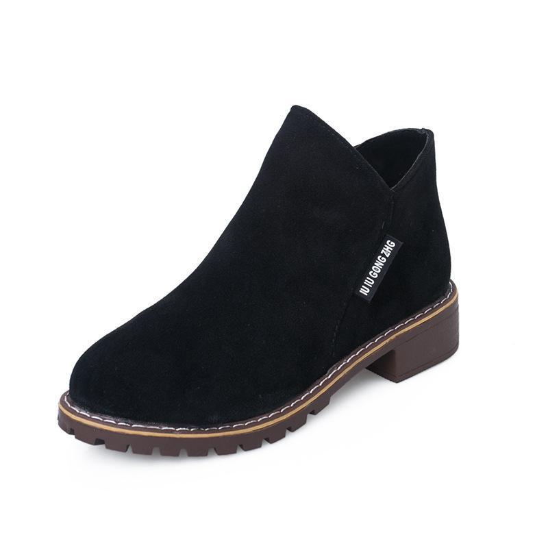 Femmes bottes 2020 bottes automne hiver dames cheville hauts talons chaussures zipper femmes femmes chaussures d'hiver