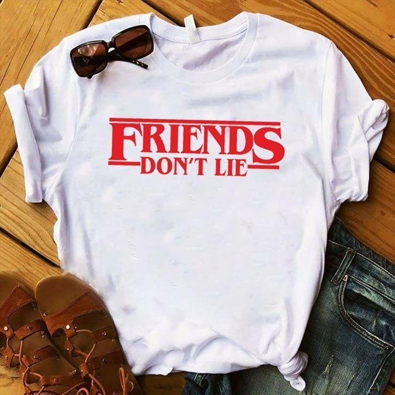 Women Lady T Shirt Stranger Things Printed Tshirt Ladies Short Sleeve Loose Tee Shirt Women Female Tops Clothes Graphic T-shirt