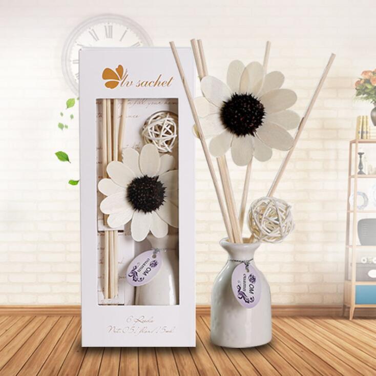 Venta caliente Lavanda Fuego libre Aromaterapia Conjunto de aromaterapia Cerámica Cerámica Esencial Aceite Esencial Volátil Perfume