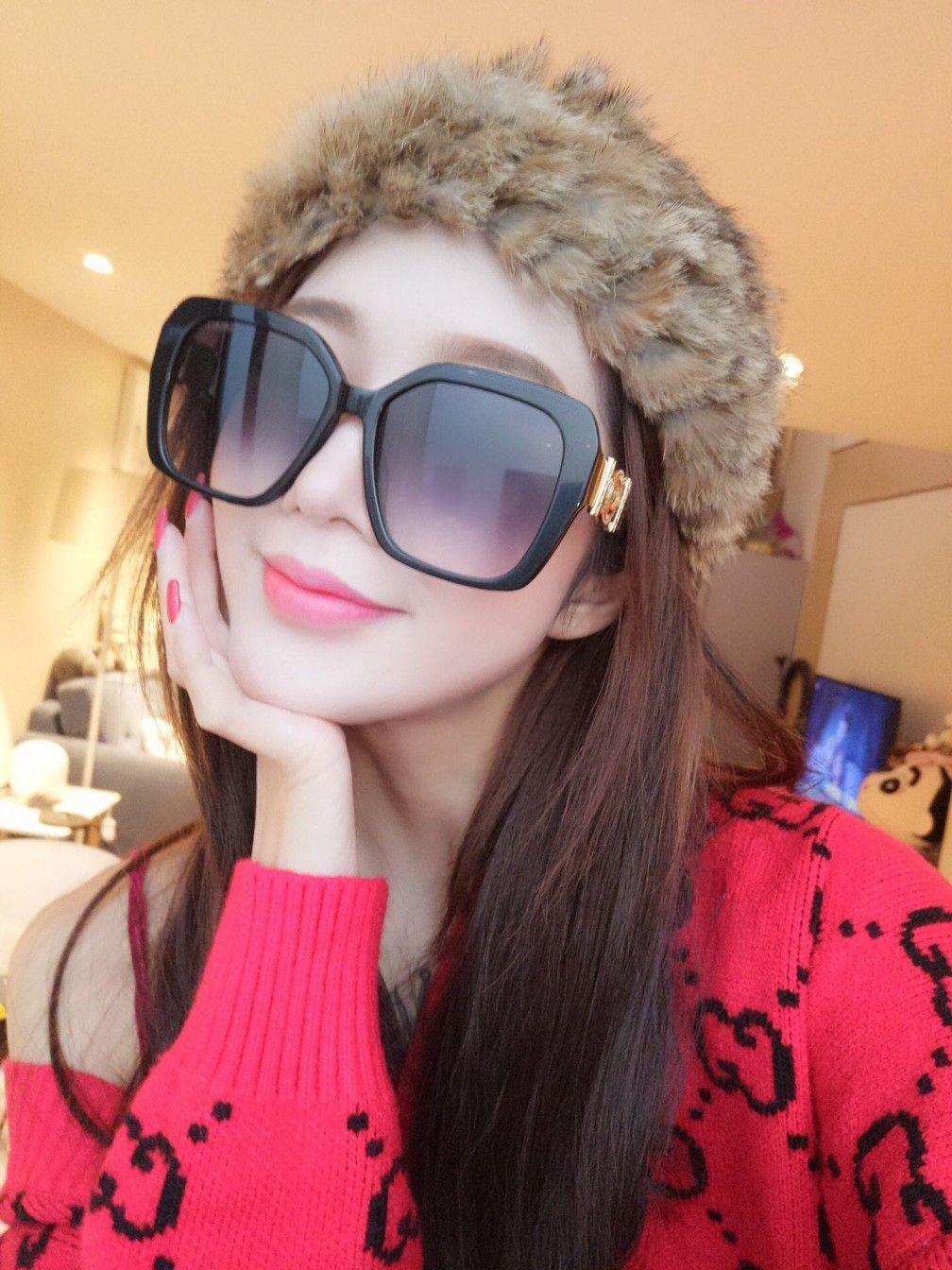 2021 جديد أعلى جودة 4378 رجل نظارات الرجال نظارات الشمس مزاجه النساء النظارات الشمسية نمط الأزياء يحمي العينين مع مربع
