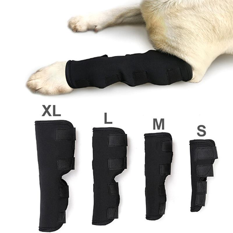 2020 NEUE 1 STÜCK Hunde-Knie-Support Beinschutz-Klammer für Hinterbein Hock Joint Wrap Atmungsaktive Verletzung Erholungsbeine Pet Care1