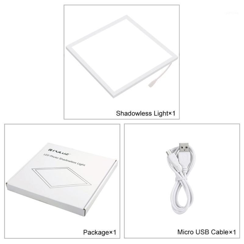 Flash Heads Puluz Mini LED Pografia Sombra Sem Sombra 22.5cm Pad de painéis de lâmpada de sombra para 20cm PO Studio Box1