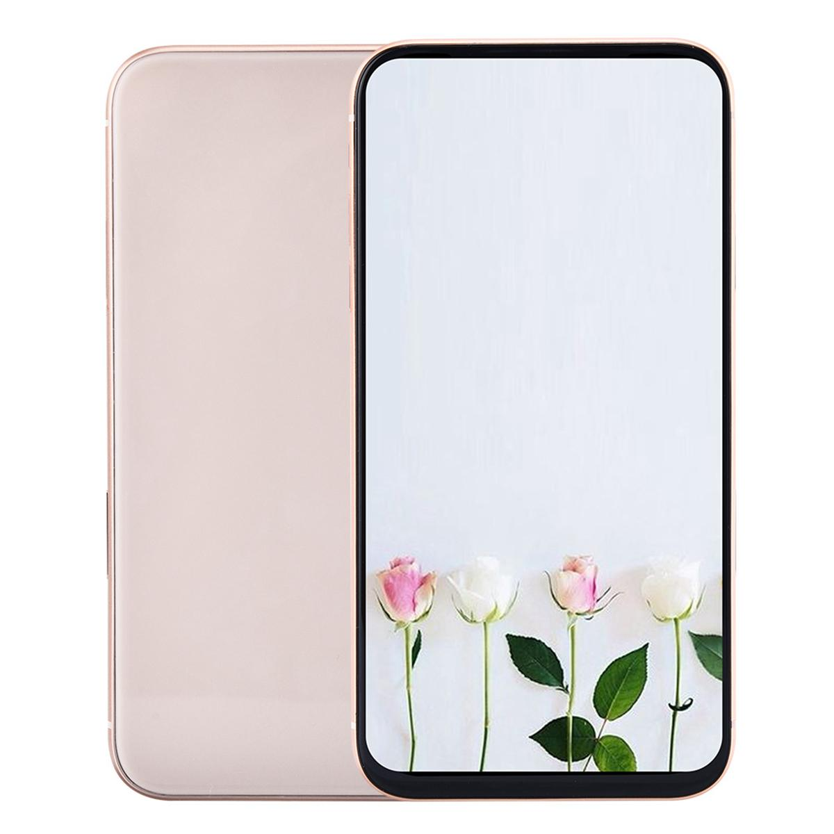1GB 16GB+32GB i12 Pro 5G Smart Phone V3 6.1 inch All Screen HD+ Android OS Face ID Quad Core 3G WCDMA GPS 3 Cameras Smartphone Metal Frame 2.5D Glass Back Cover 256GB 512GB
