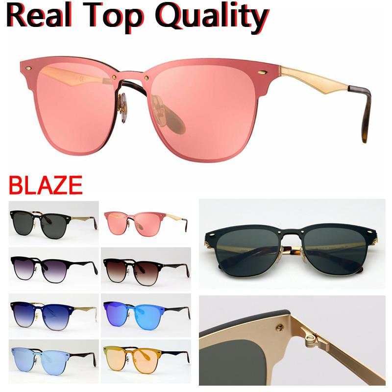 Sunglasses Blaze Designer 2020 para Mens Sunglasses Mulheres Óculos de sol UV Proteger Lentes Caso de couro, Pano, Todos os acessórios do pacote de varejo!