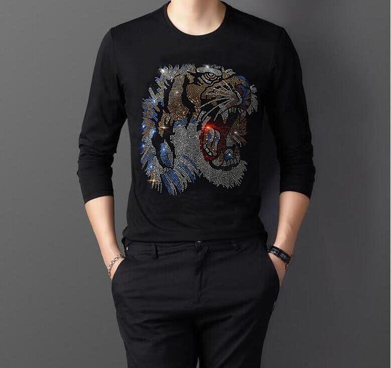 T-shirt con maniche da uomo BREG BIG 4XL Diamond Rock Long Estate 72ST