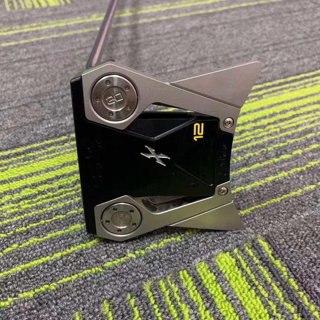 골프 클럽, 새로운 스타일 퍼터, 남성 클럽, 항공 알루미늄 퍼터 X12 무료 배포 렌치 및 헤드 커버, M에 판매자에게 연락 할 수 있습니다