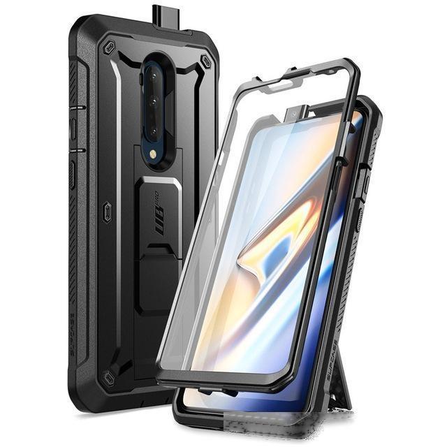 Capas de telefone celular Acessórios para celular Capas para um caso 7T Pro Suporte UB Pro Holster de corpo inteiro