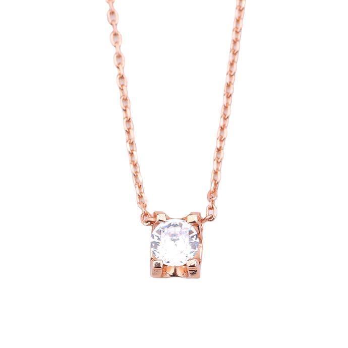 fashion jewelry womens necklace single pendant diamond necklace gold chain pendants jewelry pendant necklace