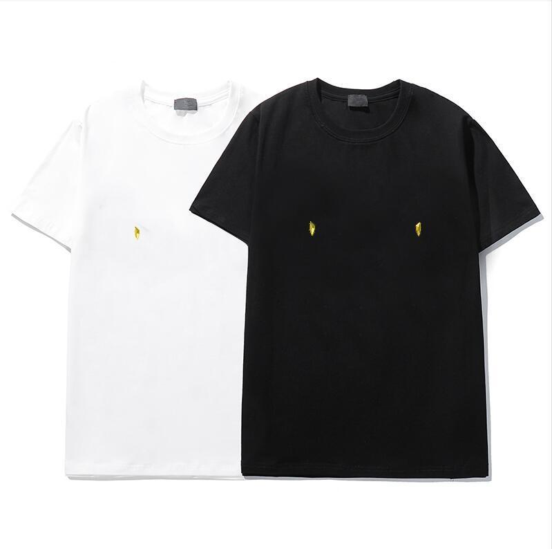 T-shirt de mode de luxe HIP HOP HOP WHITE Hommes et Vêtements pour femmes T-shirt décontracté pour hommes avec impression graphique T-shirt Taille S-XXL
