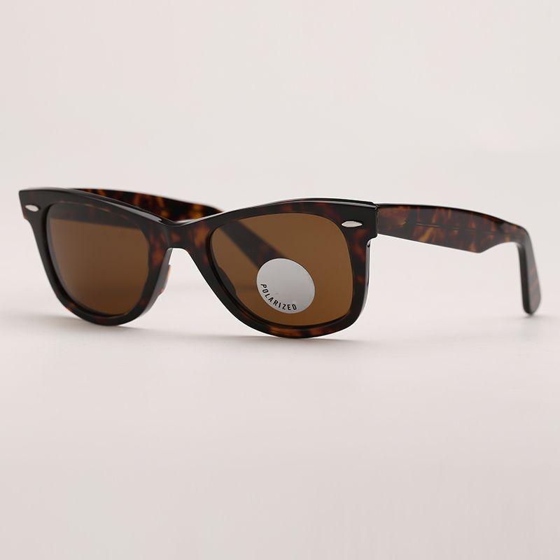 Mens polarizado óculos de sol conduzindo moda mulheres óculos de sol designer de moda lentes de vidro polarizadas Proteção da ONU com estojo de couro livre