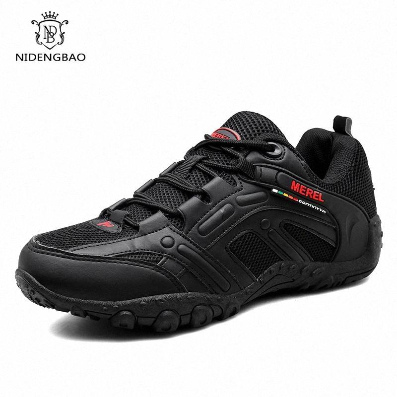 Breathable Walking Shoes Men Non-slip Wear-resistant Sole Men's Casual Shoes Outdoor Damping Sneakers Light Zapatillas Hombre #pe3a