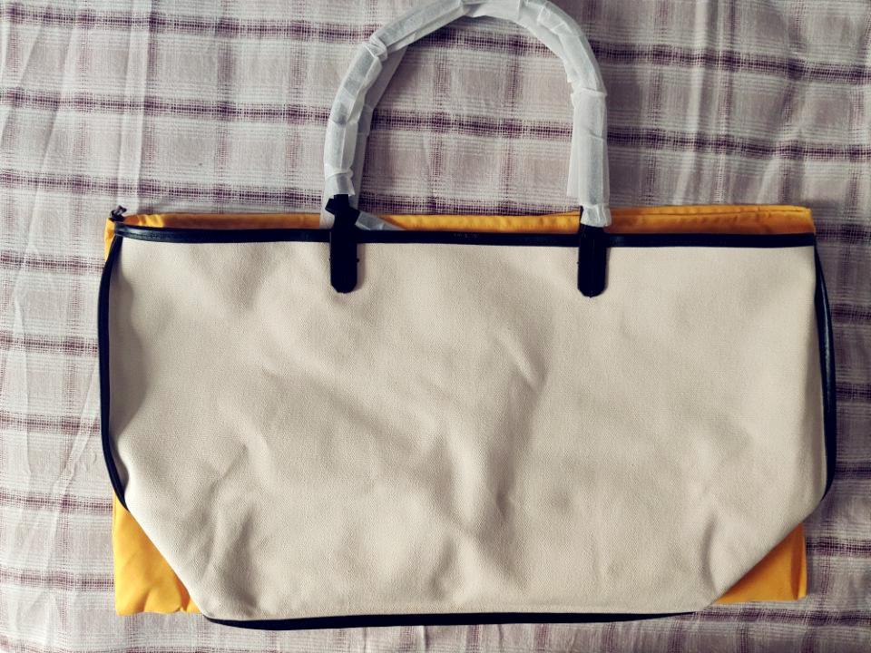 Bolsa de couro das mulheres Bolsas de lona de alta qualidade Sacola de compras de lona macia de alta qualidade com bolsa pequena