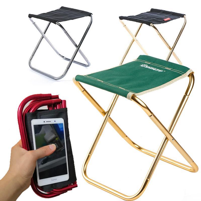Dobrável Mazar Cadeira dobrável Ao Ar Livre Camping Cadeira de Pesca De Alumínio Portátil Portátil Folding Stool Camping Barbecue Banqueta Z1130