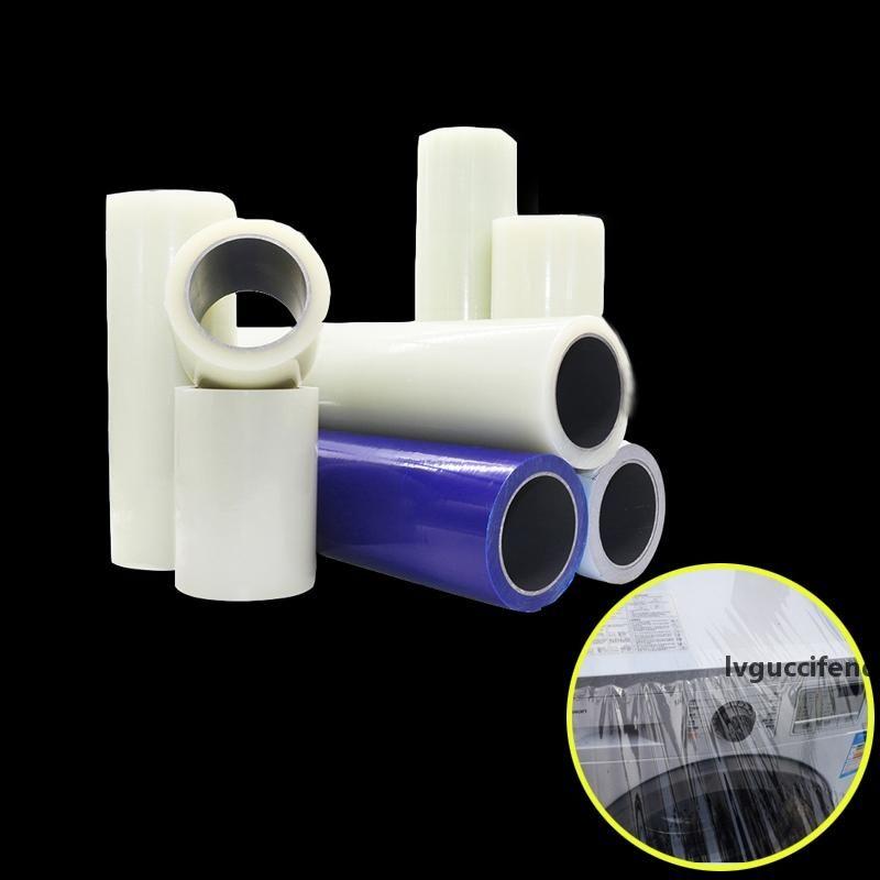 PE-Klebeband Selbstklebende Schutzfolie Paste Aluminiumplatte Kunststoff-Hardware-Edelstahl-Möbel Metall Electric Appliance