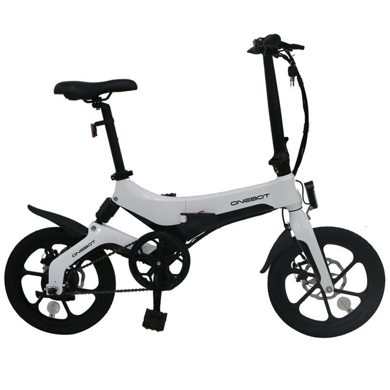 Europe Warehouse ONEBOT S6 Electric Bikes Adults 2 Wheels Foldable Electric Bicycles 50KM 36V 250W 6.4AH Lithium Battery