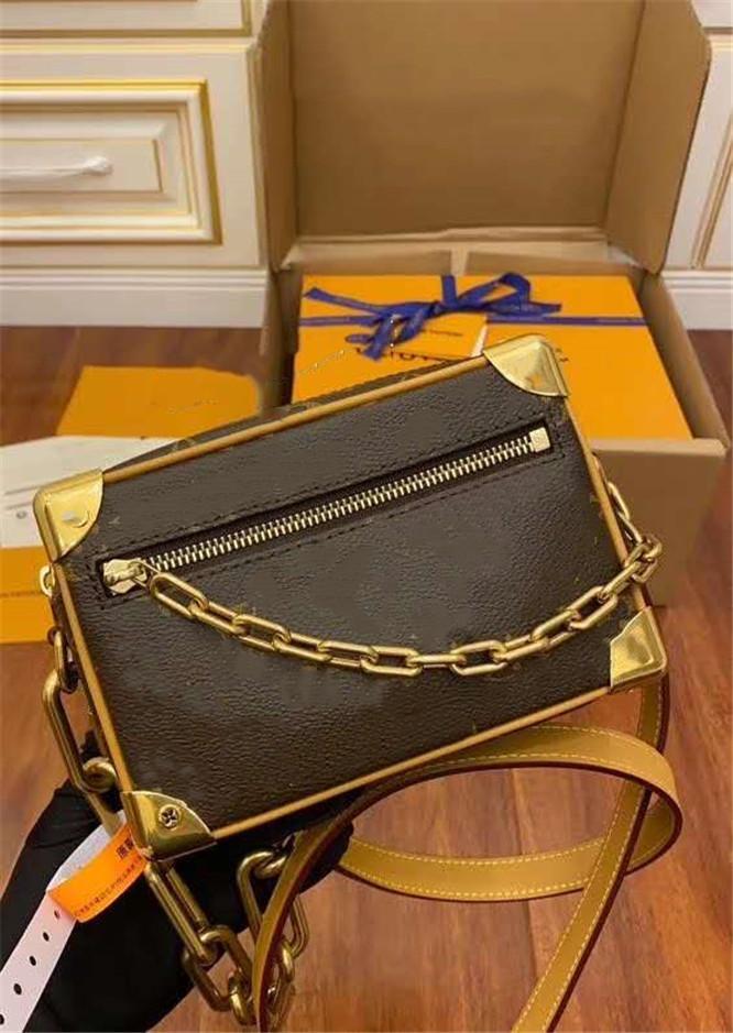 Мода BSGS Bag Bag Damies Натуральная Кожаная Сумочка с Буквами Напечатана Маленький Хлеб Сумка Аксессуары Цветочный Чехол Ретро Сумки