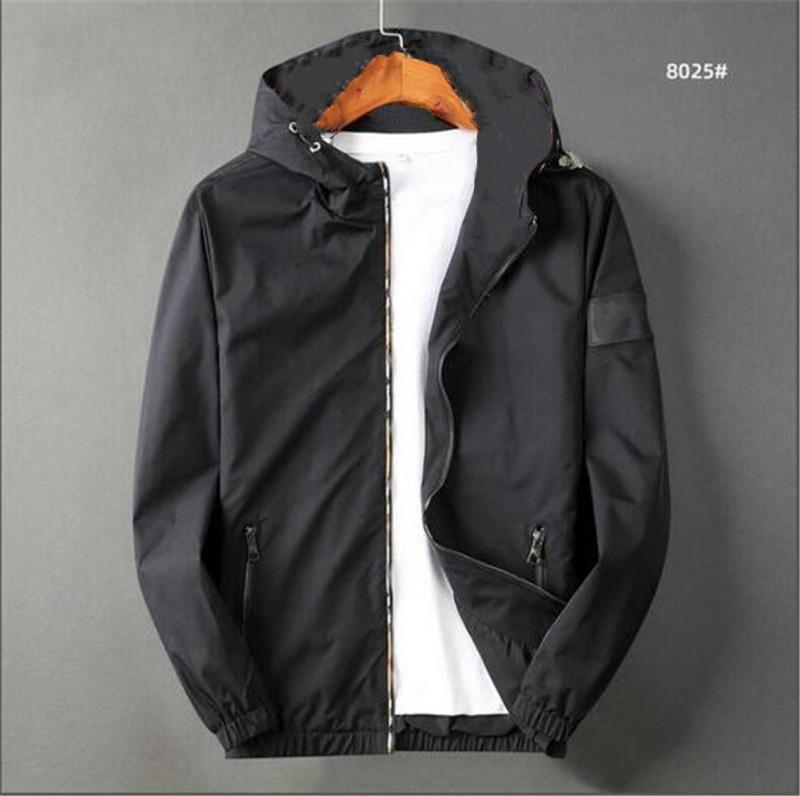 Heißer Verkauf! Neue Marke Jacke Männer Winter Herbst Slim Fit Herren Designer Kleidung Rote Männer Casual Jacke Slim Plus Größe M-3XL