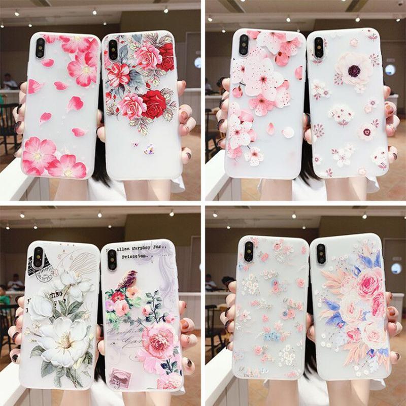 Çiçek tarzı Apple 12 mobil iphone durumda 12promax tanrıça iPhone11 / XR / XS / 678PLUS / XSMAX cep telefonu kılıfları