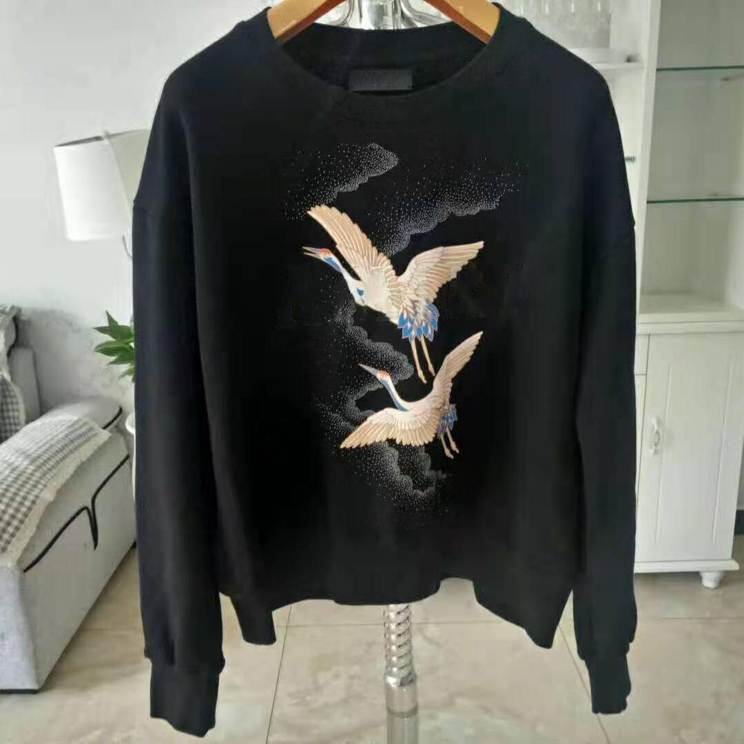 Erkek Bayan Tişörtü Hoodies Streetwear Bayan Uzun Kollu Hoodie Erkek Kazak Bahar Sonbahar Kış Hip Hop Streetwear Yüksek Kalite HD18