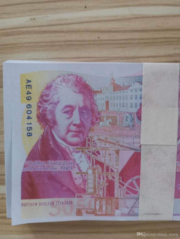 Wholesale accessoire argent copier faux dollar faux jeu de billets film 20 billets argent argent cadeaux play Collection et livre 05 FWTTJ