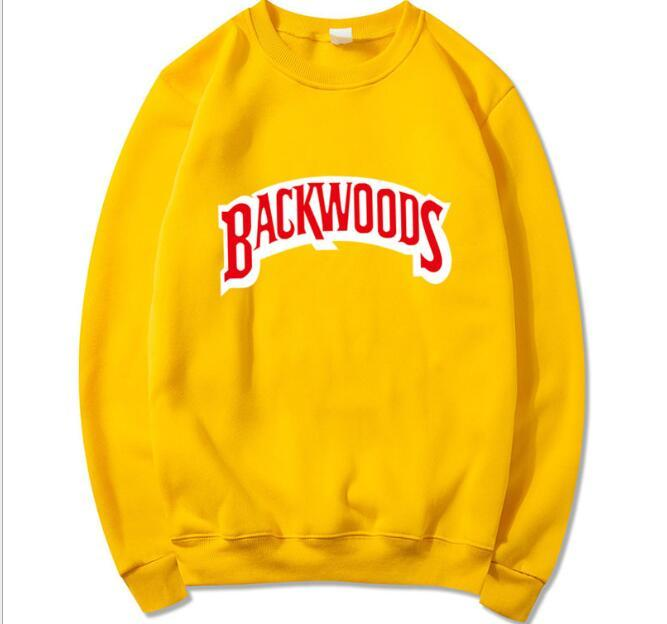 Yeni Backwoods Hoodie Bireysel Kaya erkek T-Shirt Kazak Mektup Baskı Moda Rahat Kazak Kazak Uzun Kollu Erkek Hoodies