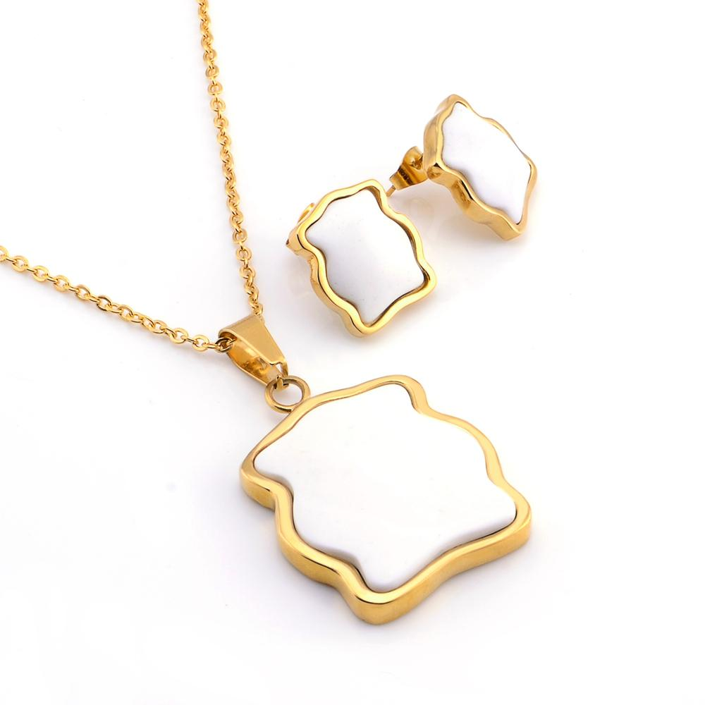 Classic Jewelry sets for woman Necklace Earrings Set Fashion Jewelry Woman Accessories Gifts