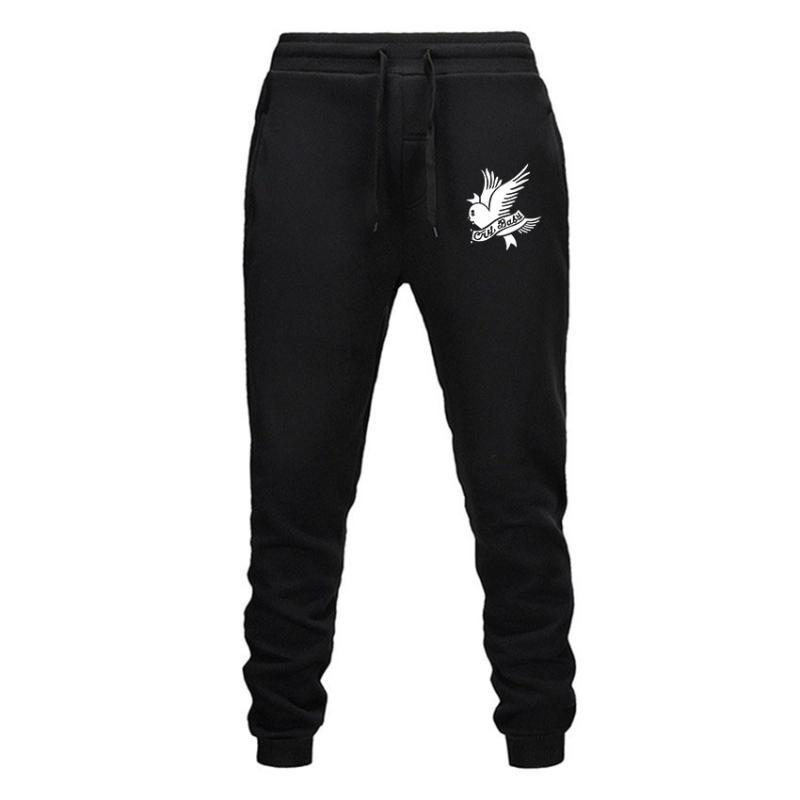 Nouveaux pantalons pour hommes Streetwear Hip hop XXXTentiCion Pantalon décontracté Hommes Fitness Joggers Pantalon de survêtement Automne Molle Épaississement Laçage